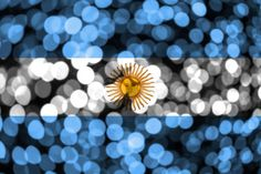 Argentina Flag, Bokeh, River, School, Design, Flags, Block Prints, Christmas Picture Frames, Christmas Illustration