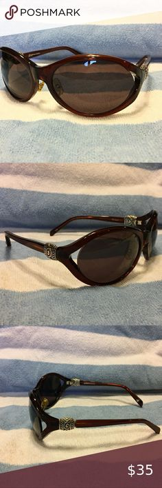 NWT Brighton LADY IN BLUE Crystals Cat Eye Sunglasses MSRP $95