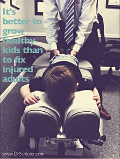 We absolutely love watching kids get better with chiropractic. It's fun being a part of and helping begin their healthy lifestyles.