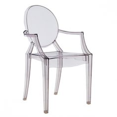 Design chair - Lous Ghost - by Philippe Starck - read more: http://myartistic.blogspot.com/2011/06/sedia-philippe-starck-louis-ghost.html