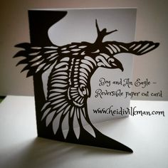 Boy and An Eagle - my original paper cut greeting card, available on Etsy, see bio. #boy #eagle #papercut #papercrafts #stationery #greetingcard #noveltycard #etsy #etsyelite #etsyfinds #unique #card #instadaily #instaphoto #paper #bird