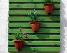 Painel p/ Jardim Vertical - Verde