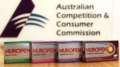 The Nurofen Specific Pain Product range