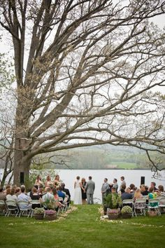 What I want. Tiny wedding right on the lake front at my cottage. Perfection
