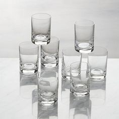 Sale ends soon. Shop Bitty Bite Tall Glasses, Set of Tiny tipples are perfect for liqueurs, two-bite desserts, appetizers and more (see more photos). This tall glass has a classic shot glass shape; short is broad and low with a distinctive appearance. Cocktail Glass Types, Types Of Cocktail Glasses, Short Glass, Chip And Dip Sets, Old Fashioned Glass, Highball Glass, Cut Glass, Clear Glass, Look Cool