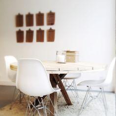 Interior design:  Working space, interior, white, eames © by MyDeer.nl