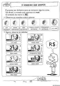 Smile trocando ideias!: Algumas atividades de Sistema monetário brasileiro.