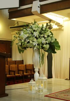 Standing Flower area pemberkatan nikah