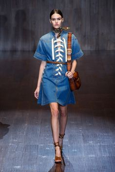 View the Gucci Spring 2015 RTW collection. See photos and video of the  runway show. 551e8a46307