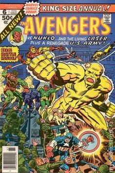Avengers (1963 1st Series) Annual 6