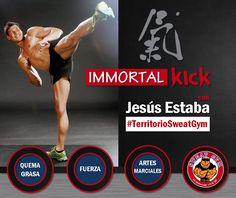 Desarrolla tu fuerza y quema grasa al máximo con Immortal Kick #Salud #Nutrición #Cardio #Musculacion #Culturismo #Fitness #Gym #ComeSano #SweatGym #SoySweatGym #TerritorioSweatGym #MrSweat #SweatGymxVenezuela #ejercicio #fisicoculturismo