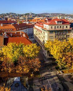 Autumn colors everywhere Sky Bar, Where The Heart Is, Czech Republic, Hungary, Cities, Sweet Home, Autumn, Explore, London