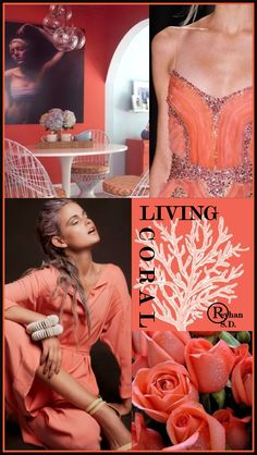 Pantone just unveiled its color of the year for 2019 – vibrant, yet mellow, Living Coral embodies the desire for playful expression while it symbolizes our innate need for optimism and joyful pursuits. Color Lila, Coral Color, Coral Pink, Burgandy Color, Magenta, Coral Pantone, Pantone Color, Coral Fashion, Fashion Colours