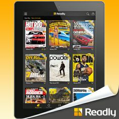 New #magazines are added all the time on Readly. #iPad #tablets #reading