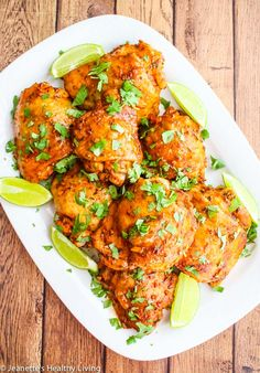 Baked Peruvian Chicken - easy chicken recipe - marinade chicken overnight or the morning of, and bake the next day