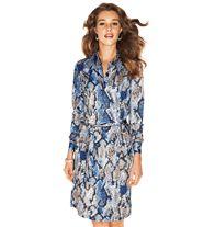 Printed Shirt Dress - $29.99