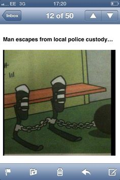 Man escapes from #custody