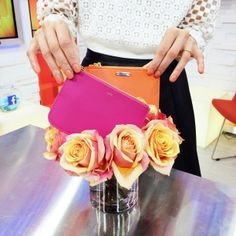 Love these clutches as much as we do? Check out Lucky Magazine's Eva Chen's Spring Fashion tips under $100 here -- http://abcn.ws/SdCcta