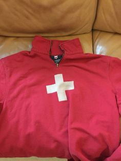 Victorinox Zip Sweatshirt Swiss Cross Pullover Medium Men's  | eBay Swiss Ski, Ski Sweater, Mens Sweatshirts, Medium, Online Price, Pullover, Zip, Best Deals, Sweaters
