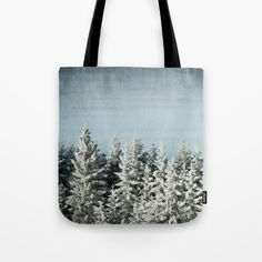 Winter wonderland Tote Bag by karidesign Poplin Fabric, Hand Sewn, Winter Wonderland, Original Artwork, Stress, Reusable Tote Bags, America, Stitch, Sewing