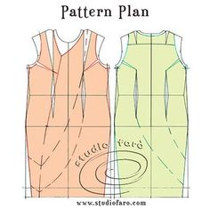 Pattern Puzzle - The Drape Shift Woven (well-suited) Bodice Pattern, Suit Pattern, Pattern Design, Pattern Cutting, Pattern Making, Pdf Sewing Patterns, Vintage Patterns, Crochet Round, Pattern Drafting