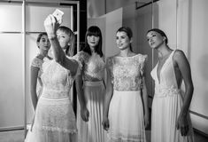We walked the runway at NEWLIFE EXPO Here are some backstage pictures of our team and our models, taken by Olsi Mane. Backstage, Runway, Bridal, Formal Dresses, Model, Design, Fashion, Cat Walk, Dresses For Formal