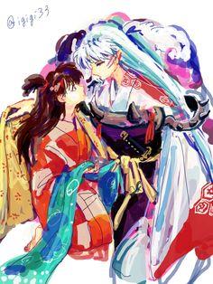 殺りん this is beautiful!! Sesshomaru