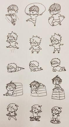 Karasuno First Years Haikyuu Karasuno, Haikyuu Manga, Haikyuu Funny, Haikyuu Fanart, Haikyuu Ships, Kenma, Kuroo, Kagehina, Hinata