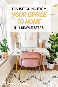 Boho Living Room Discover Transitioning From Your Office to Home in 4 Simple Steps Room Ideas Bedroom, Home Decor Bedroom, How To Dress A Bed, Home Office Decor, Office Ideas, Single Bedroom, Design Your Dream House, Boho Living Room, Interior Design Living Room