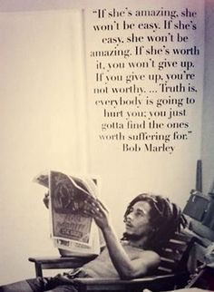 Bob Marley #wordstoliveby