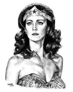 Wonder Woman by LKBurke29
