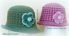 Ravelry: Crochet Hat RIPPLE pattern by Barbara Summers