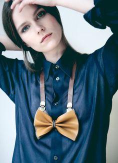 Bow tie necklace N°2