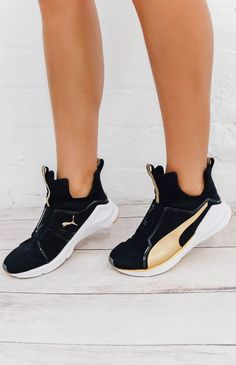 Fierce Gold Sneaker - Puma Black Gold Puma Fierce fdd460857