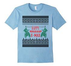 Men's Happy Braaaap X-MAX T-Shirt 3XL Baby Blue Braaaap U...