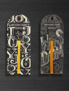 Chalk Shoppe Series by Franklin Mill, via Behance