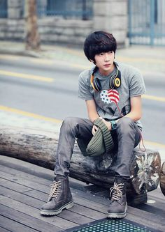 Koren ulzzang fashion #streetstyle