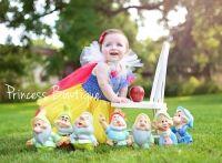 Baby Snow of White Infant Toddler Tutu Dress