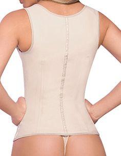 f0b0cbb68d Amazon.com  Ann Chery Chaleco Latex Vest 2027  Clothing. Waist CincherLatex AnnShapewearBodysuitsVestCherryMen s Waistcoat