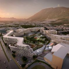 Zaha Hadid plans sinuous apartment complex for first project in Mexico