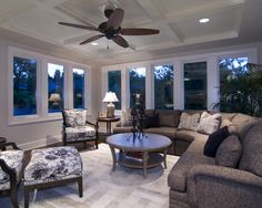 Family Room Enclosed Porch Design, Pictures, Remodel, Decor and Ideas - page 7