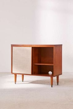 Shop Draper Media Console at Urban Outfitters today. We carry all the latest styles, colors and brands for you to choose from right here. Tv Stand Console, Console Cabinet, Shoe Cabinet, Vinyl Record Storage, Lp Storage, Small Media Cabinet, Record Player Cabinet, Pallet Tv Stands, Home Office Lighting