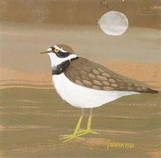 Ringed plover - Mary Fedden