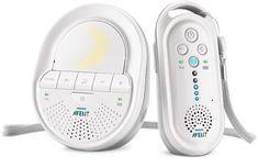 Philips Avent Ecoute-bébé DECT Blanc, Smart Eco Mode