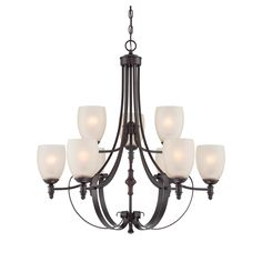 Savoy House 1-622-9-13 Duvall English Bronze 9 Light Chandelier On Sale Now. Guaranteed Low Prices. Call Today (877)-237-9098.