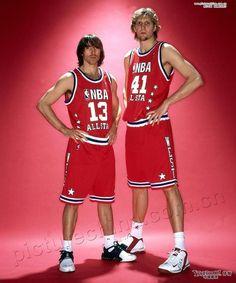 Nash & Dirk Nowitzki