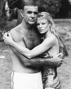 Kim Basinger con Sean Connery