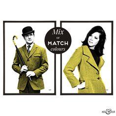 #TheAvengers #FashionIcon #PopArt #CultTV http://artandhue.com/shop/fashion-icons-pair/ #MrsPeel #JohnSteed
