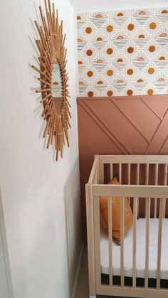 Playroom Decor, Baby Room Decor, Nursery Decor, Rv Interior, Interior Design, Brown Crib, Childhood Quotes, Gold Nursery, Diy Rv
