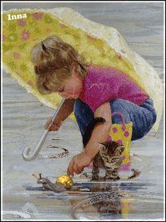 Дождик Pretty Gif, Beautiful Gif, Cozy Rainy Day, Rainy Days, Umbrella Art, Under My Umbrella, Rain Painting, Painting For Kids, Gifs